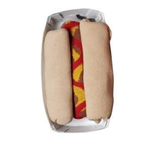 [Novelty Socks] Size 8-12 Hot Dog Socks - NWT